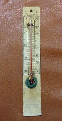 Vintage Business Advertising Thermometer - Kelly's Railway Hotel Tongala Vic
