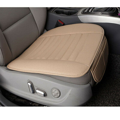 Universal Breathable Car Seat Cover PU Leather Cushion Pad Mat Four Seasons