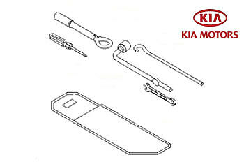 Genuine Kia Sportage 2010-2013 Tool Kit 091303U200