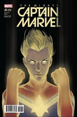 Mighty Captain Marvel #0 - variant cover - FVF