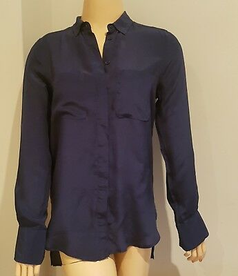 Seed heritage blouse / shirt any occasion silk size 6 excellent condition