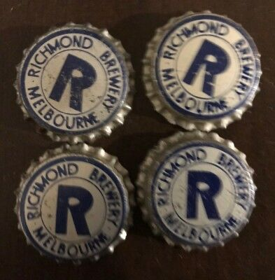 Richmond Brewery Bottle Tops Collection