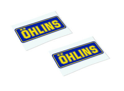 OHLINS Classic Retro Car Motorcycle Decals Stickers