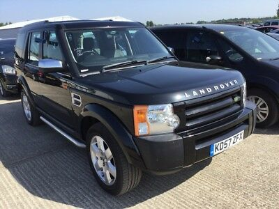 57 Land Rover Discovery 3 2.7 Tdv6 Gs **7 Seat, Black, Auto, Leather, Alloys!**