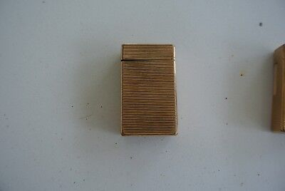 Accendino Lighter S.t.dupont Placcato Oro Vintage