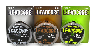 ESP Leadcore Bulk Spool 25m