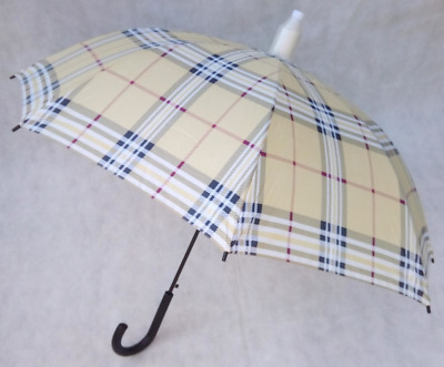 Stay Dry Non Drip Umbrella with Crook Handle - 8 Fibreglass Ribs & Automatic