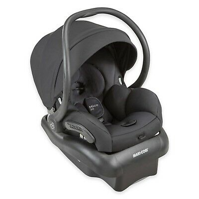 Maxi Cosi Infant Car Seat Mico 30 Black Side Impact Protection Rear Facing Only