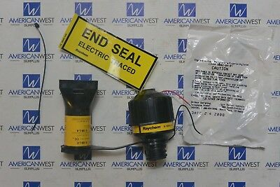New E-100-L1-A Raychem End Seal Electric Traced With Light