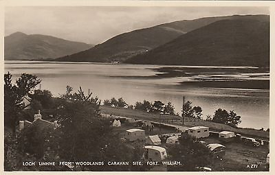 Postcard - Fort William - Loch Linnhe from Woodlands Caraven Site