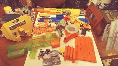 Nerf Guns, Large Lot, New And Used