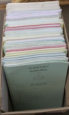 BRITISH SOCIETY OF AUSTRALIAN PHILATELY-THE BULLETIN 1983-2009 (Not Complete)