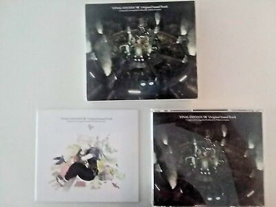 Final Fantasy 7/FF7 4-CD Soundtrack In Box, Artbook, Japanese Import, Free Ship