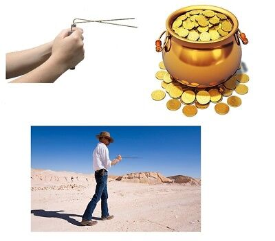 LARGE Brass Ghost Hunting Hunter Detection Detector Paranormal Find DOWSING RODS