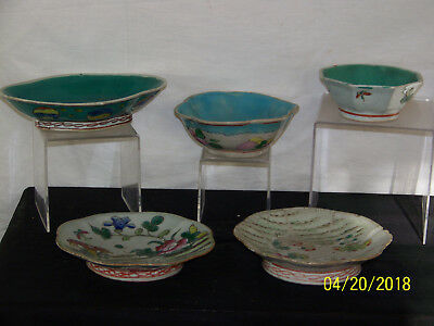 Chinese Qing Dy Plates & Bowls