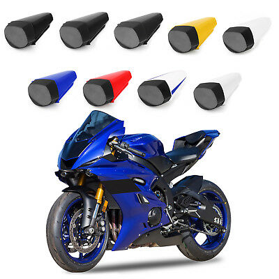 Rear Pillion Seat Cowl Fairing Cover For 2017-2018 Yamaha YZF-R6 YZF R6