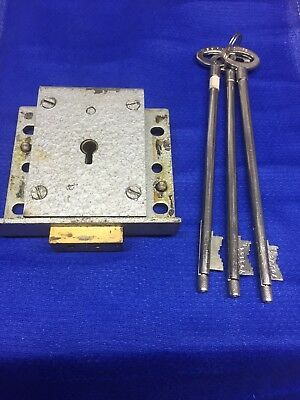 Safe Lock chubb 6k75 3 keys 7 Lever