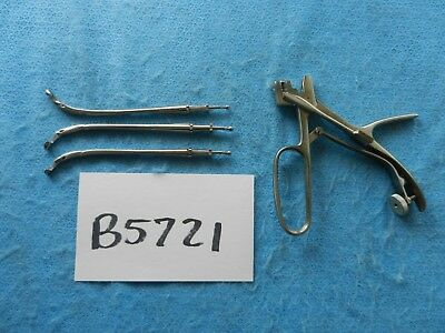 Karl Storz Surgical ENT 775100 Universal Handle W/ Yankauer Antrum Punches