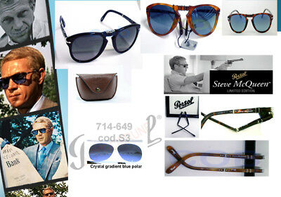 Persol Steve McQueen 714 Sm replacement cases  lenses temples side arms