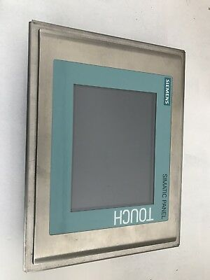 siemens simatic touch panel 6AV6652-8BA10-0AA0