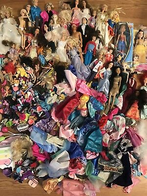 Huge Lot Barbie Dolls Clothes Shoes Accessories- Vintage To Modern!