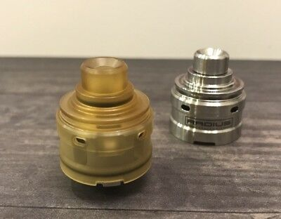 Vicious Ant Radius V2 RDA Ultem Top Cap - Perfect fit - Vape Dripper Cap