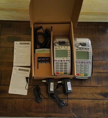 Lot of 2 VeriFone Vx520 And A Pin Pad Verifone 1000se.