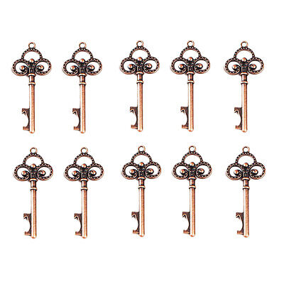 10 x Vintage Skeleton Key Bottle Opener for Wedding Favors Souvenirs Gifts