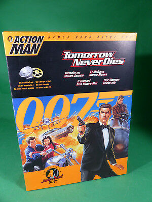 """Action Man - James Bond - Tomorrow never dies  Action Figure  12"""" - mint in Box"""