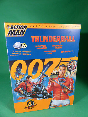 """Action Man - James Bond - Thunderball  Action Figure  12"""" - mint in Box"""