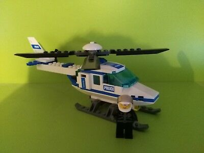 Lego City Police Helicopter 7741 Boxed With Instructions Complete