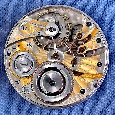 16s Illinois 17j 305/7 Two-Tone  Pocket Watch Movement, #3118739 - 1917, OF