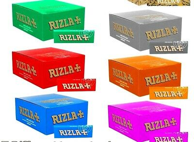 Rizla Papers, Blue ,Red , Green ,Silver Slim King Size .