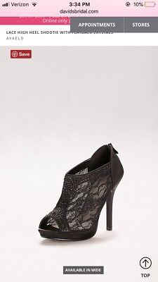 f6b0324eb56470 New Women s Sexy Lace Booties Open Toe High Heel Platform Dress Party Shoes