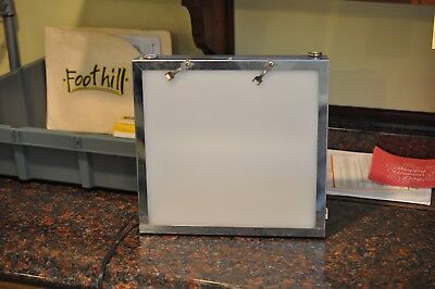 Dental X-Ray Light Box Illuminator Veterinary, Chiropractor X Ray 2 film Viewer