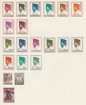 INDONESIA COLLECTION Conefo, Tahun 1959-1960  etc USED #,