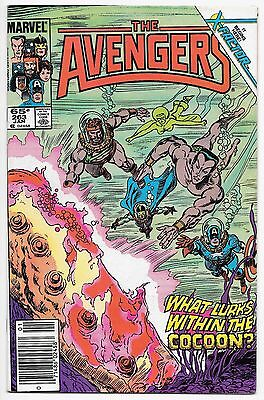 The Avengers #263 - Marvel 1986 - RETURN OF JEAN GREY Phoenix NM-