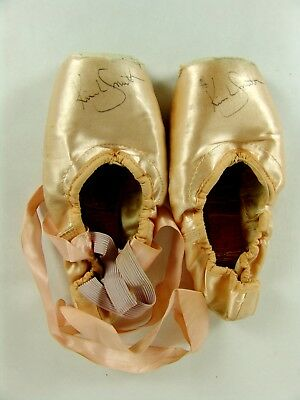 Kim L Smith Autographed Used Worn Pointe Shoes Ballet Ballerina
