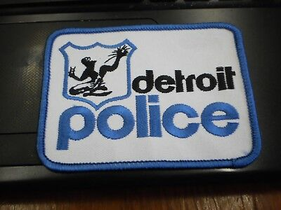 City of Detroit Police Patch