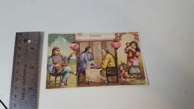 Arbuckle Coffee Antique 1893 Advertising Trade Card China
