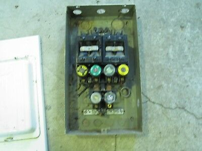 60 Amp Vintage Cutler Hammer Fusable Main Switch