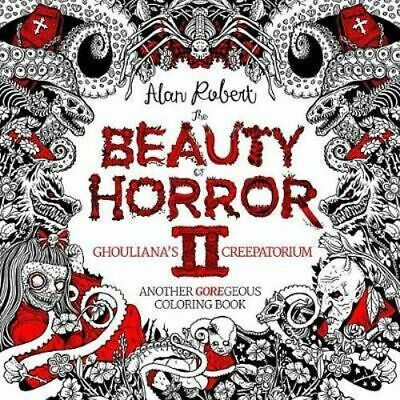NEW The Beauty Of Horror 2 Ghouliana's Creepatorium Another Goregeous Coloring B