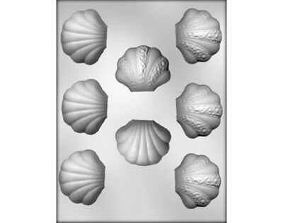 Clam Shell Chocolate Mould or Soap Mould
