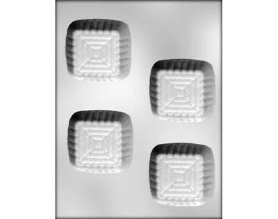 Dessert Square Cup Chocolate Mould or Soap Mould