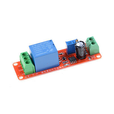 New NE555 DC 12V Delay Relay shield Timer Switch Adjustable Module 0-10Second d4