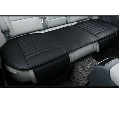 Universal Rear Car Seat Cover Breathable PU Leather Cushion Pad Mat All Seasons