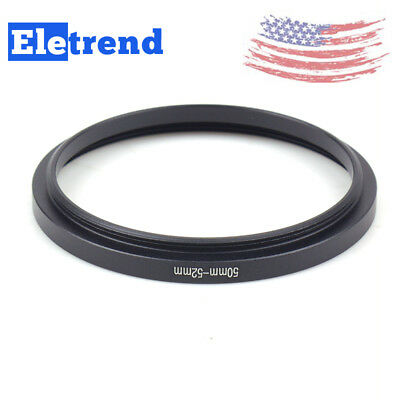 50-52mm Step-Up Lens Adapter Filter Ring US FAST SHIP