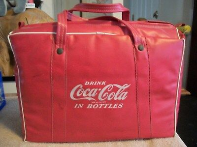 Coca Cola - 1960's Stadium Blanket Tote Bag - 14X10X4