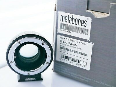 Metabones Speedbooster 0.71 Nikon G to MFT, With Box - Perfect Condition