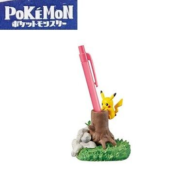 RE-MENT Pokemon Diorama Desktop Figure Desk de Kakurenbo Pikachu Pen Stand NEW